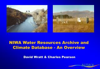 NIWA Water Resources Archive and Climate Database - An Overview