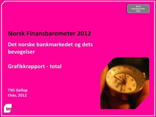 Norsk Finansbarometer  2012