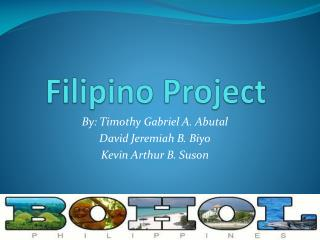 Filipino Project