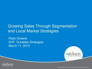 Growing Sales Through Segmentation and Local Market Strategies