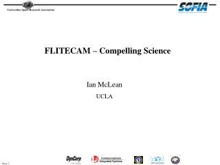 FLITECAM – Compelling Science