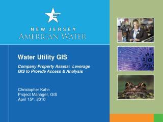 Water Utility GIS