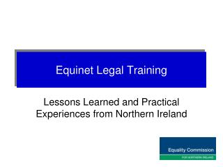 Equinet Legal Training