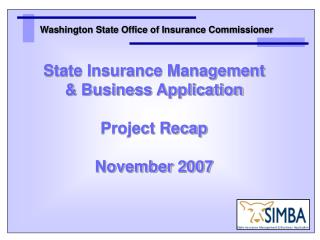 Washington State Office of Insurance Commissioner