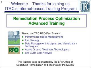 Remediation Process Optimization Advanced Training