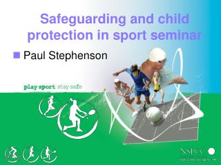 Safeguarding and child protection in sport seminar