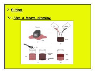 7.  Slitiny.   7.1.  Fáze  a  fázové  přeměny.