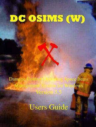 DC OSIMS (W)