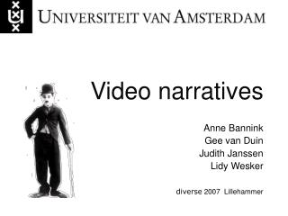 Video narratives