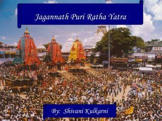 Jagannath Puri Ratha Yatra