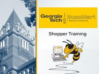 Shopper Training