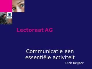Lectoraat AG