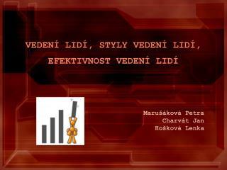 Marušáková Petra Charvát Jan Hošková Lenka