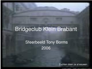 Bridgeclub Klein Brabant