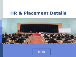HR & Placement Details