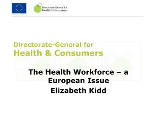 Directorate-General for Health & Consumers