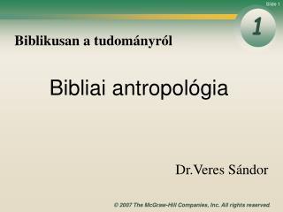 Biblikusan a tudományról