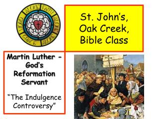 St. John's,    Oak Creek,  Bible Class