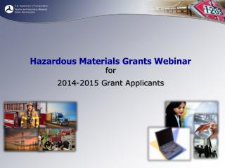 Hazardous Materials Grants Webinar