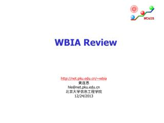 WBIA Review