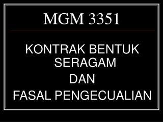 MGM 3351