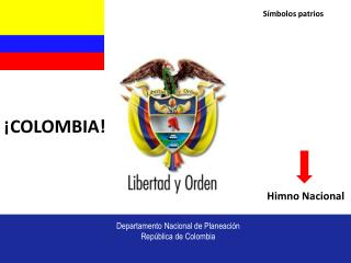 Departamento Nacional de Planeaci n Rep blica de Colombia