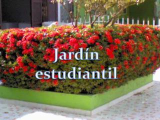 Jardín estudiantil