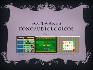 Softwares fonoaudiológicos