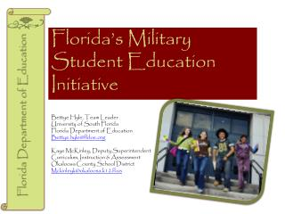 Florida s Military Student Education Initiative