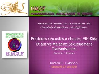 HM2F homosexuel(le)s  musulman(e)s  de  France