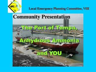 Local Emergency Planning Committee, VIII