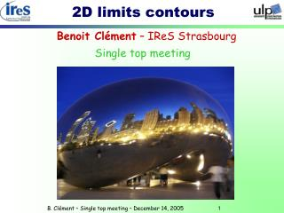 2D limits contours
