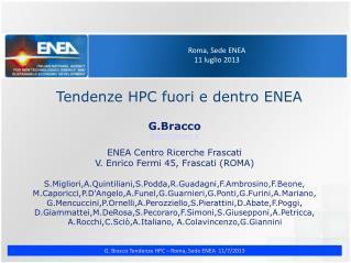 Roma, Sede ENEA 11 luglio 2013