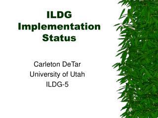 ILDG Implementation Status