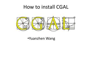 How to install CGAL
