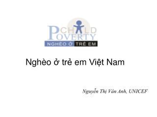 Nghèo  ở  trẻ em Việt  Nam
