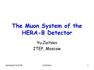 The Muon System of the HERA-B Detector