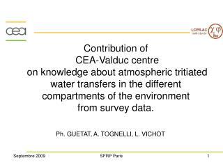 Ph. GUETAT, A. TOGNELLI, L. VICHOT