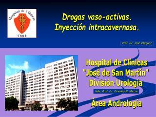 Hospital de Cl nicas Jos  de San Mart n Divisi n Urolog a    rea Androlog a