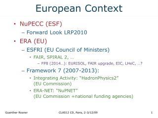 European Context