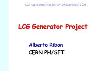 LCG Generator Project