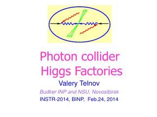 Valery Telnov Budker INP and NSU, Novosibirsk INSTR-2014, BINP,  Feb.24, 2014