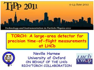 TORCH: A large-area detector for precision time-of-flight measurements at LHCb