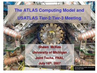 The ATLAS Computing Model and USATLAS Tier-2/Tier-3 Meeting