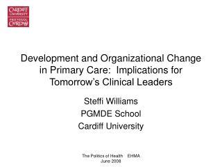 Steffi Williams PGMDE School Cardiff University