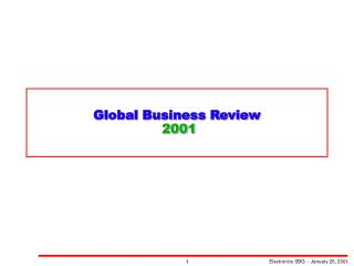 Global Business Review  2001