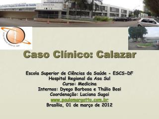 Caso Clínico: Calazar