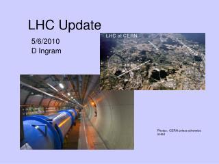 LHC Update