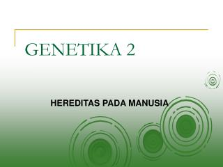 GENETIKA 2