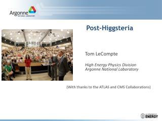 Post-Higgsteria